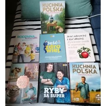 7 książek kucharskich LIDL