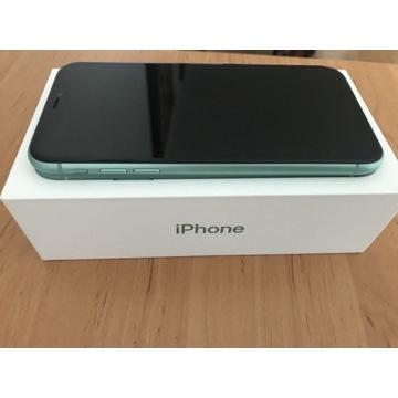 iPhone 11 64 GB w kolorze zielonym