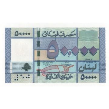 Liban 50 000 funtów