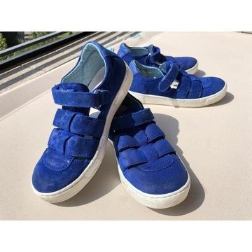 Buty sandały NATURINO rozmiar 31 niebieskie