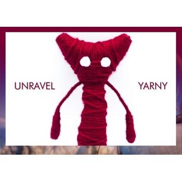 YARNY włóczka z gry UNRAVEL 5+ lat - wys. 23 cm