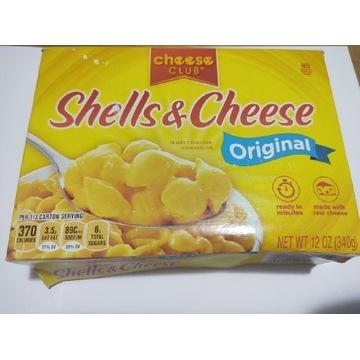 Makaron z serem z USA muszelki shells cheese 340 g