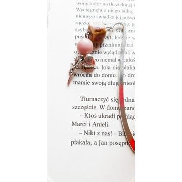 Zakładki do książek metalowe z elfem i serduszkiem