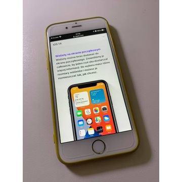 iPhone 6s Gold Złoty 32GB Szkło hartowane