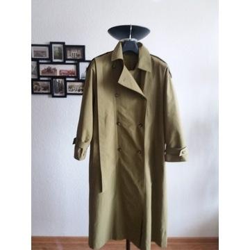Płaszcz dwurzędowy trencz prochowiec XL