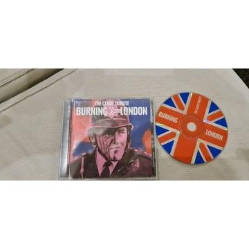 THE CLASH TRIBUTE: BURNING LONDON CD Unikat