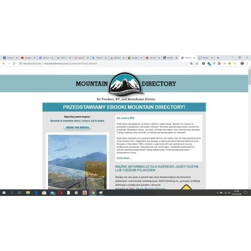 Mountain Directory: Przewodnik dla kierowców