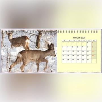 Kalendarz Foto Biurko 2020 madejski-art.com