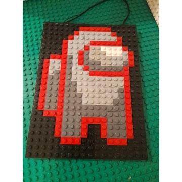 LEGO obraz na sciane Among Us
