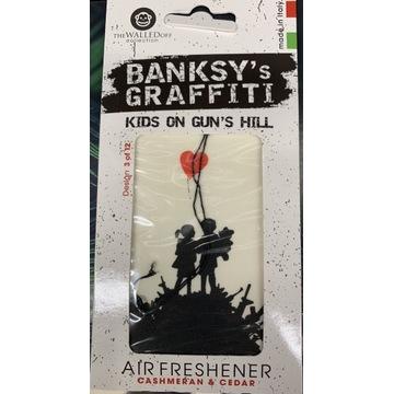 Zawieszka zapach Abercrombie&Fitch Fierce Banksy