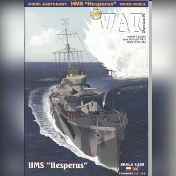 """HMS """"Hesperus"""" WAK 1:200"""