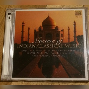 2 CD - Masters of Indian Classical Music - Indie