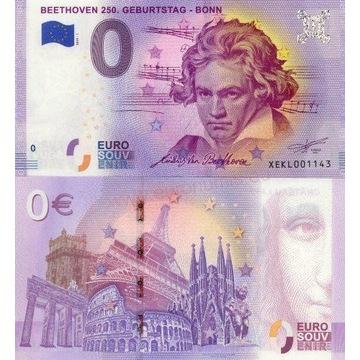 0 euro Beethoven /Mozarthaus