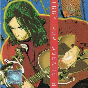 """Iggy Pop """"Avenue B"""" singiel CD"""