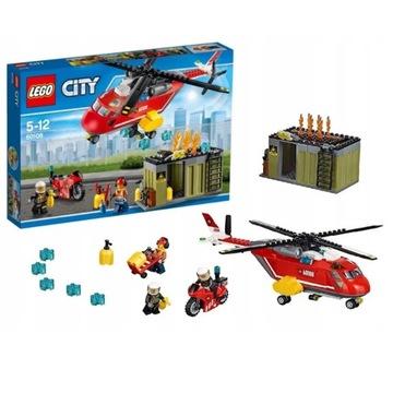Klocki LEGO City Helikopter strażacki 60108 JAK NO