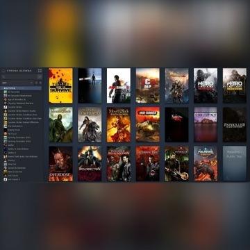 Konto Steam 60 gier (lvl 6)