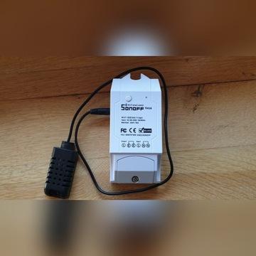 Sonoff TH16 + czujnik temperatury i wilgotności
