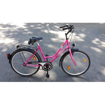 ładny niemiecki rower miejski damski FISCHER 26
