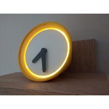 Zegar IKEA STOLPA podświetlany czujnik światła