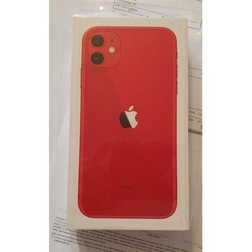 iPhone 11 64GB RED Nowy Polska Dystrybucja