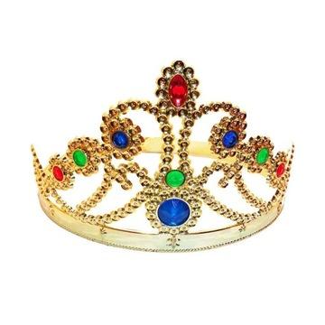 Złota Korona - Diadem Królewna MISS Księżniczka