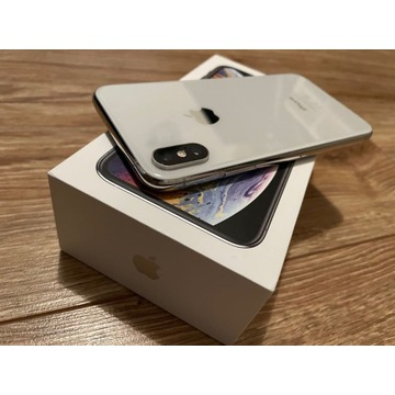IPhone XS 64GB SILVER bez face id + GRATIS Moment