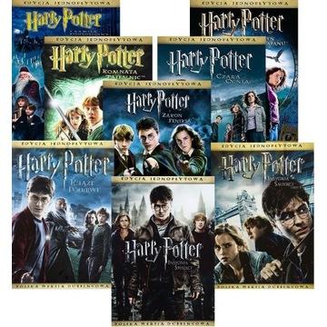 Harry Potter - komplet 7 filmów DVD