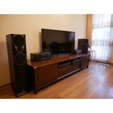 Kino domowe Yamaha + zestaw głośników Mission MX 4
