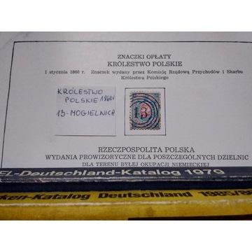 Królestwo Polskie Fi 11860 polska jedynka