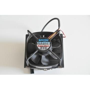 Wentylator Arctic cooling + radiator miedź tanio