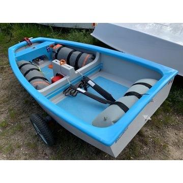Optimist-kompletna łódka z certyfikatem! Stan BDB