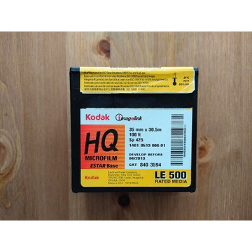 Kodak HQ Microfilm 35 mm / 30,5m Film Szpula Lomo