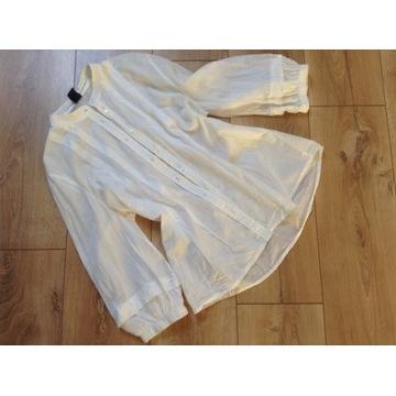 Bluzka koszula GAP 38 M biała boho elegancka lekka