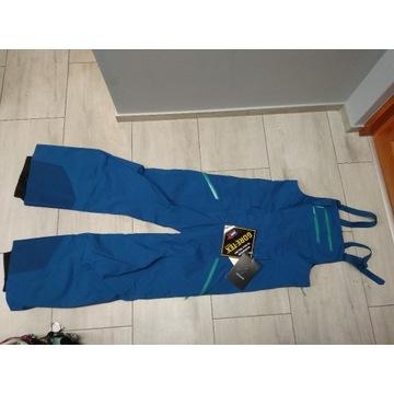spodnie ogrodniczki arcterix L gore-tex 28ty narty
