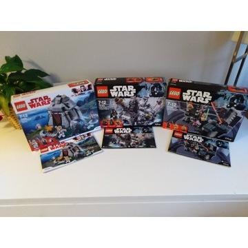 Lego 75183, 75169,75200 Star Wars, City Ninjago