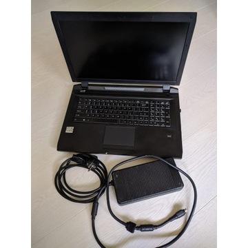 Laptop ClevoP375SM,custom'owy,dwie karty graficzne
