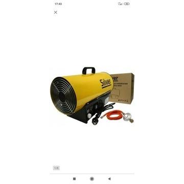 Nagrzewnica gazowa 40kW z regulacją Termostat, lcd