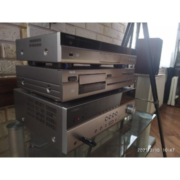 Zestaw Yamaha amplituner rx-v 571,blu-ray,CD