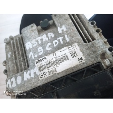 Sterowniki silnika astra h 1.9cdti