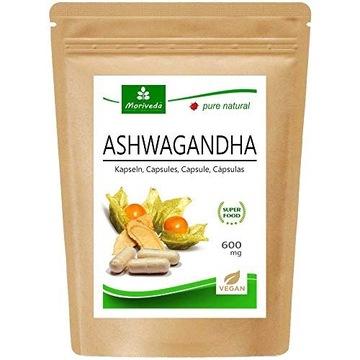 Moriveda Ashwagandha Kapselki , 600 mg Vegan