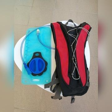Plecak rowerowy / biegowy z bukłakiem 2,5l
