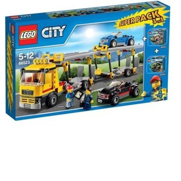 JAK NOWE Lego City transporter 60060 * 3 pack*
