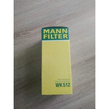Filtr paliwa MANN-FILTER WK 512