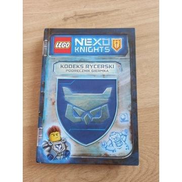 LEGO NexoKnights Kodeks rycerski Podręcznik giermk