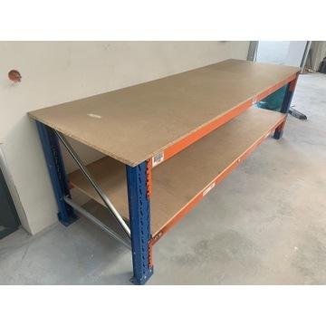 Stół warsztatowy garażowy roboczy przemysłowy