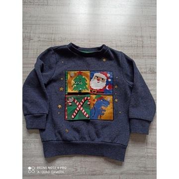 Świąteczna bluza dla chłopca