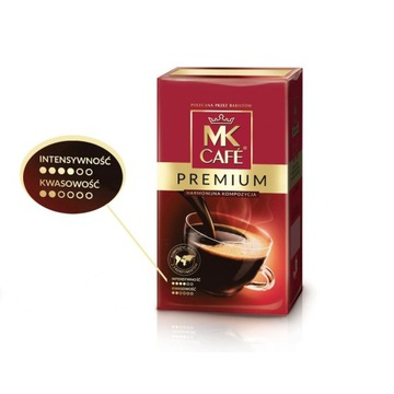 KAWA MK CAFE PREMIUM harmonijna kompozycja