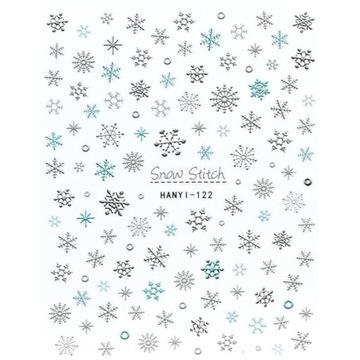 Naklejki na paznokcie Christmas / Święta HANYI 122