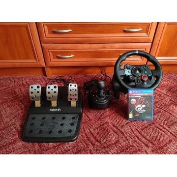 Logitech G29 + Shifter + Gran Turismo Sport