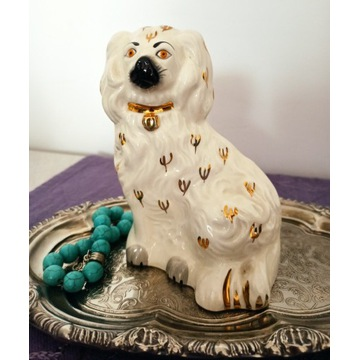 Bestwick, figurka porcelanowa, spaniel, lata 60-te